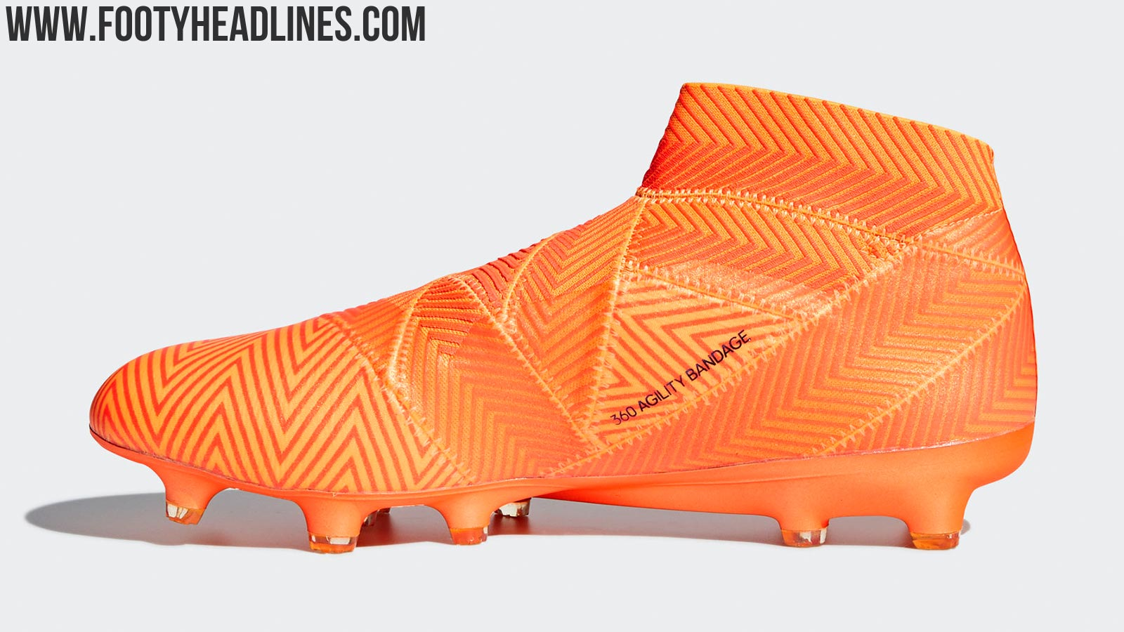 2f099e209 The second generation of the Adidas Nemeziz football boot will be launched  ahead of the 2018 World Cup. It's once again available as laceless and  laced ...