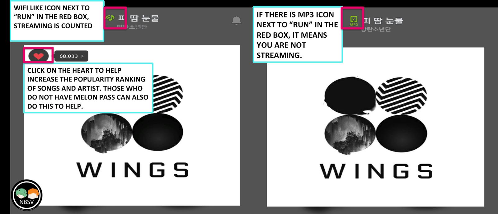 BTS Fanbase No Boundaries Suga V : HOW TO STREAM BTS SONGS IN MELON APP