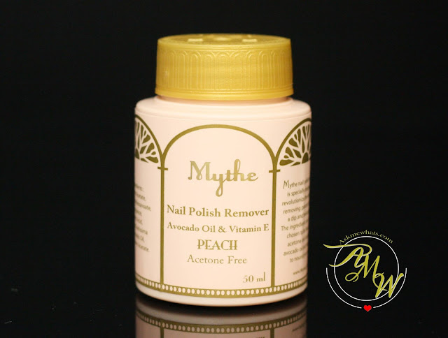 a photo of Mythe Nail Polish Remover Acetone