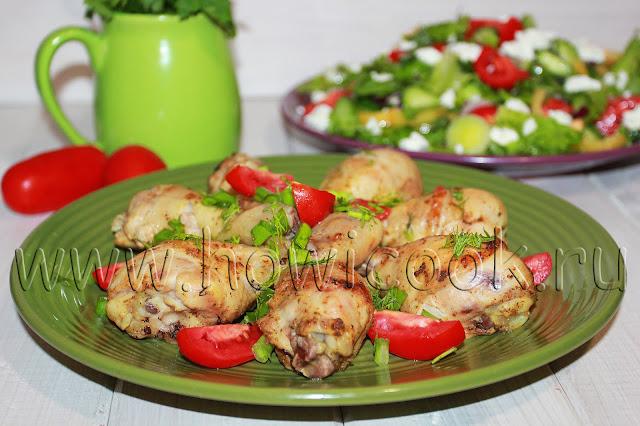 рецепт курицы в рукаве со специями