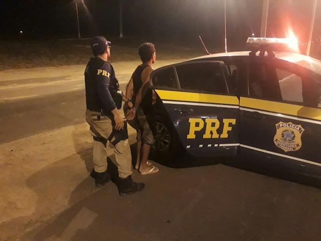Homicida é detido pela Polícia Rodoviária Federal em Açailândia