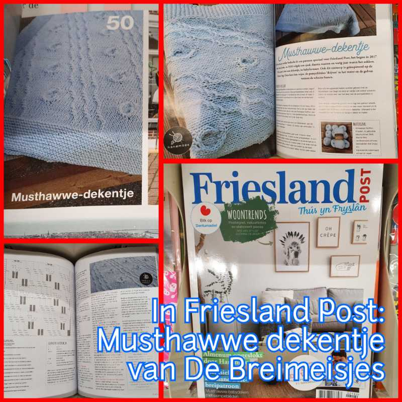 Musthawwe dekentje in Friesland Post!