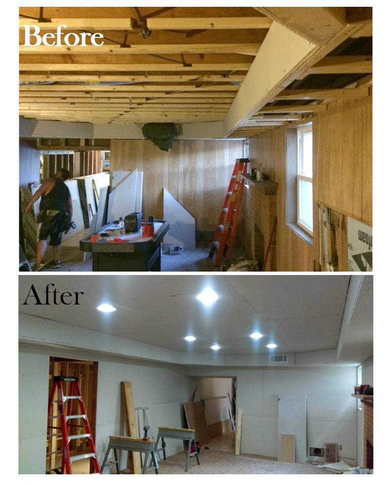 Real Girl's Realm: Our Basement Renovation