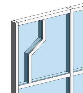 how to change the grid direction curtain system in revit