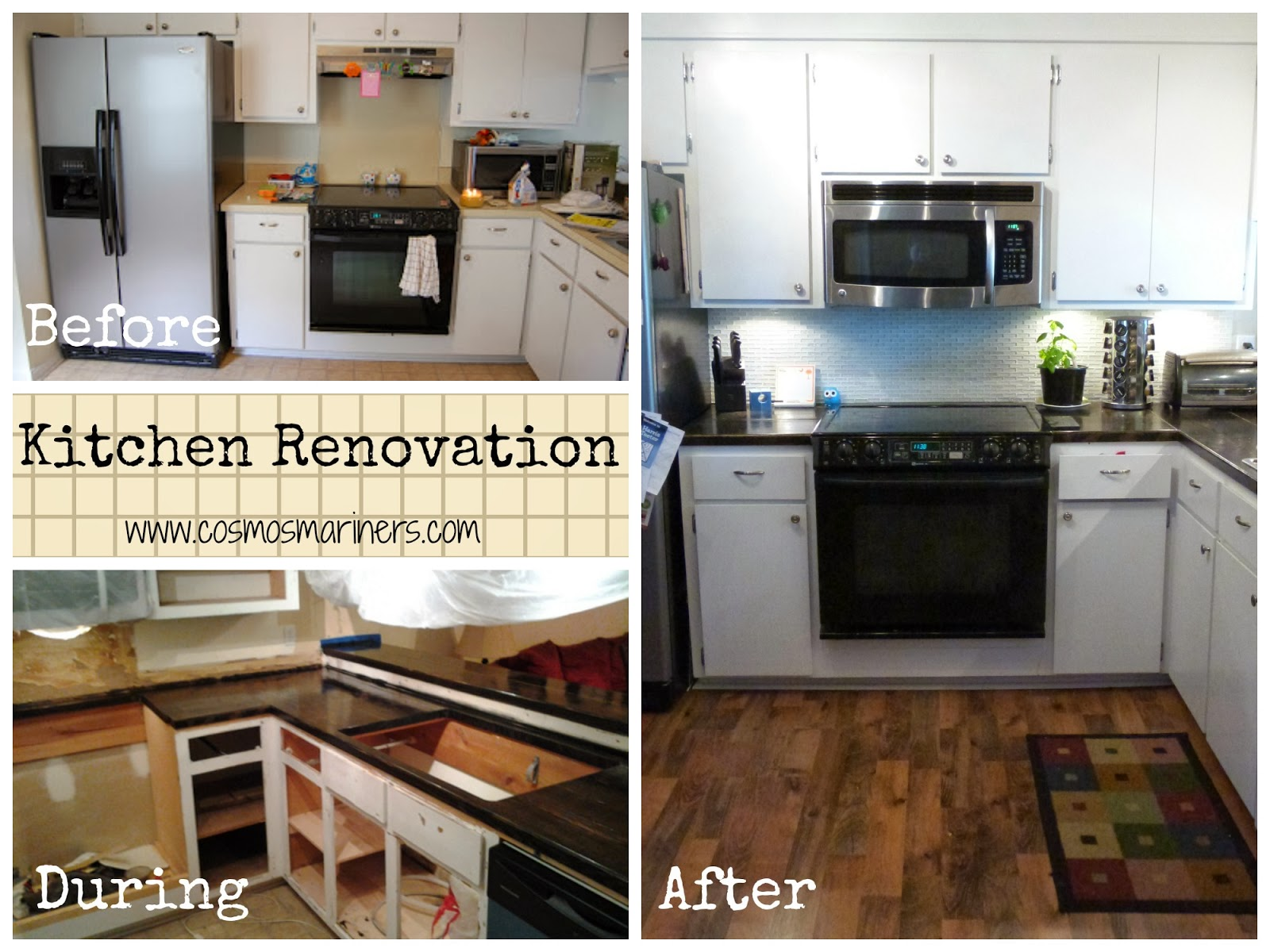 Replacing Kitchen Cabinets On A Budget Our Sweet New 3000 Kitchen A Diy Story Cosmos Mariners