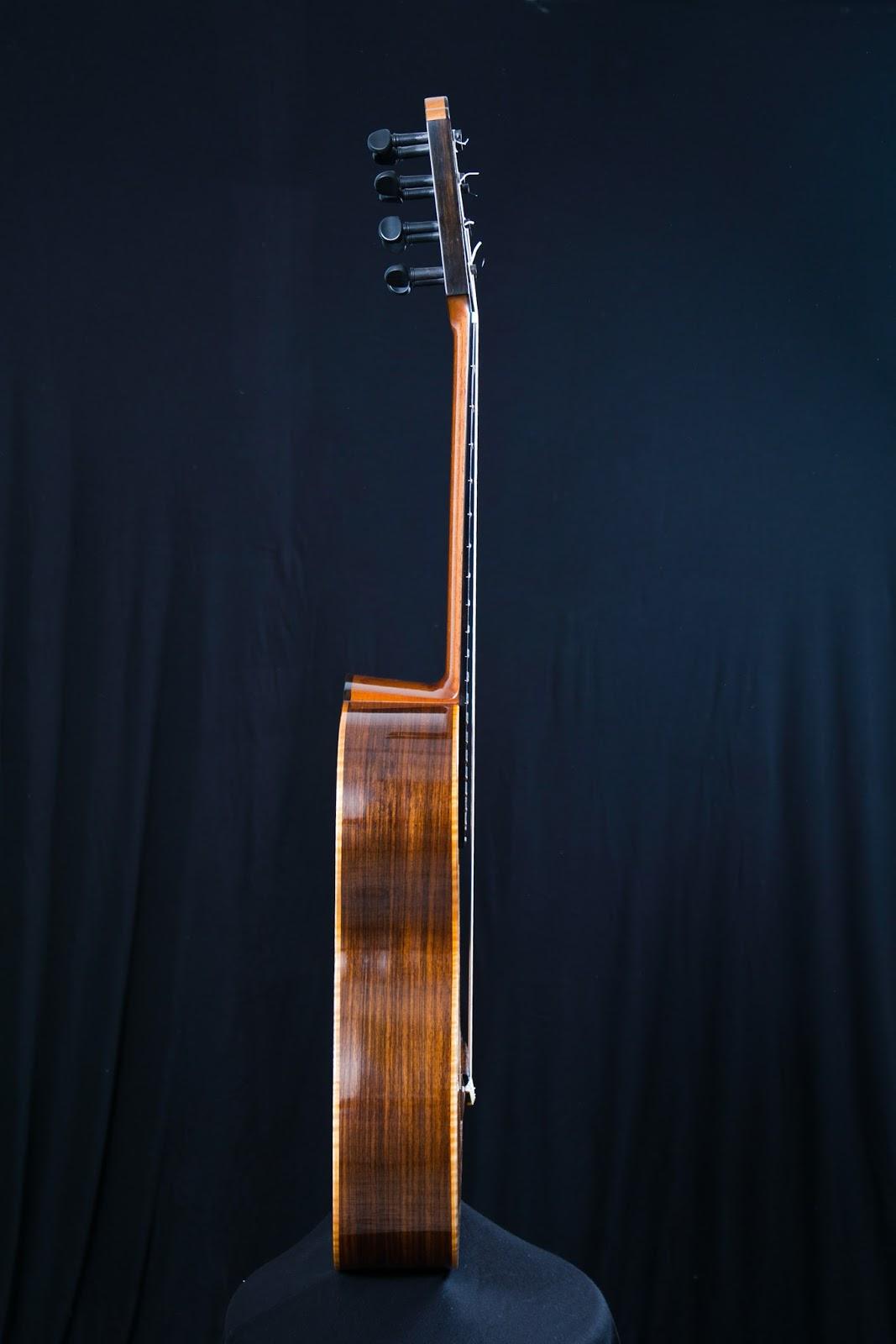 guitarras custom constru das por rodolfo cucculelli luthier flamenco negra guitar. Black Bedroom Furniture Sets. Home Design Ideas