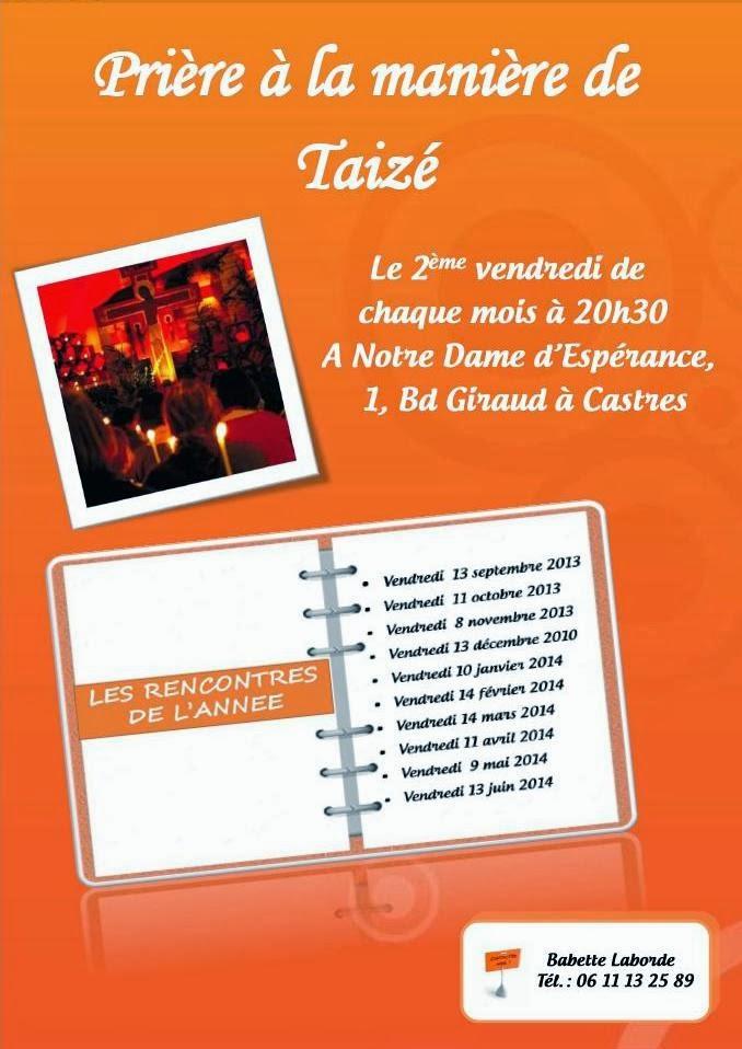 rencontres taizé 2013