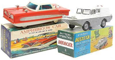 Moonbase Central Toys On Tv Aquacar And Amphibious Car
