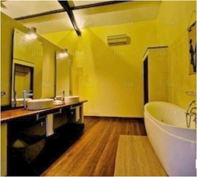 Decorating Ideas For Yellow Bathroom