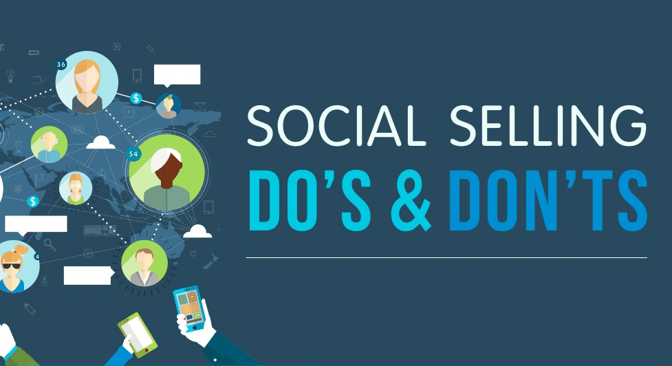 Social Selling: Do's And Don'ts - #infographic