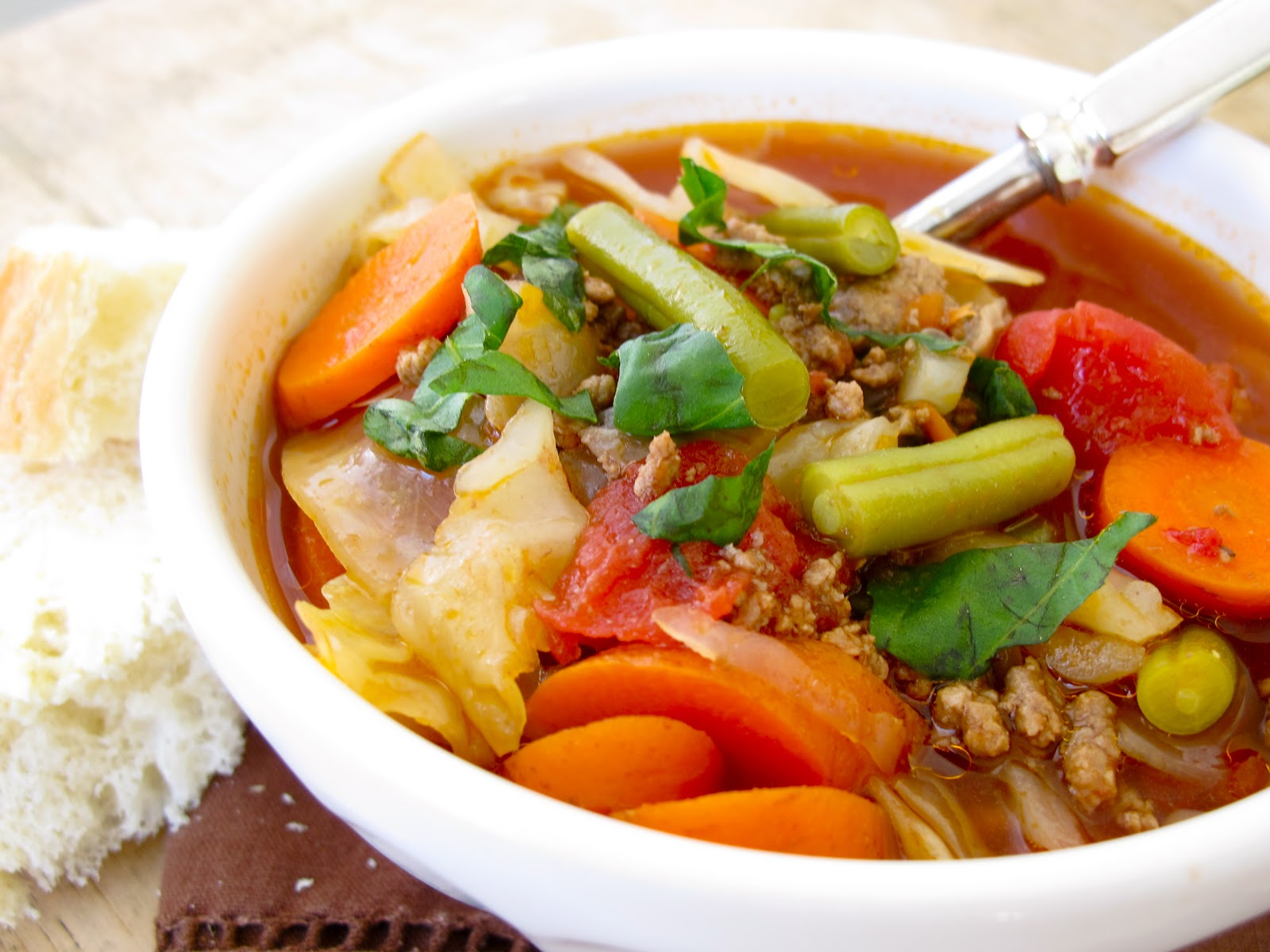 Healthy Appetizer Recipe: Vegetable Beef Soup (with images ...