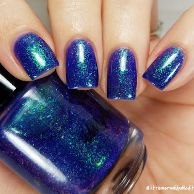 Illyrian Polish August COTM Enigma Swatches and Review