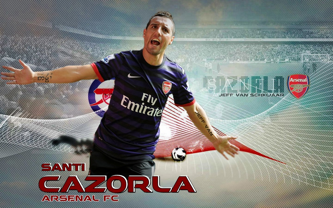 Wallpaper Arsenal Musim 2012-2013