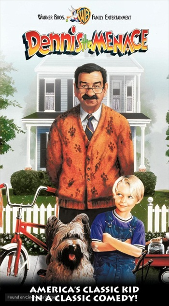 Dennis The Menace 1993 Dual Audio Hindi 480p WEB-DL 300mb