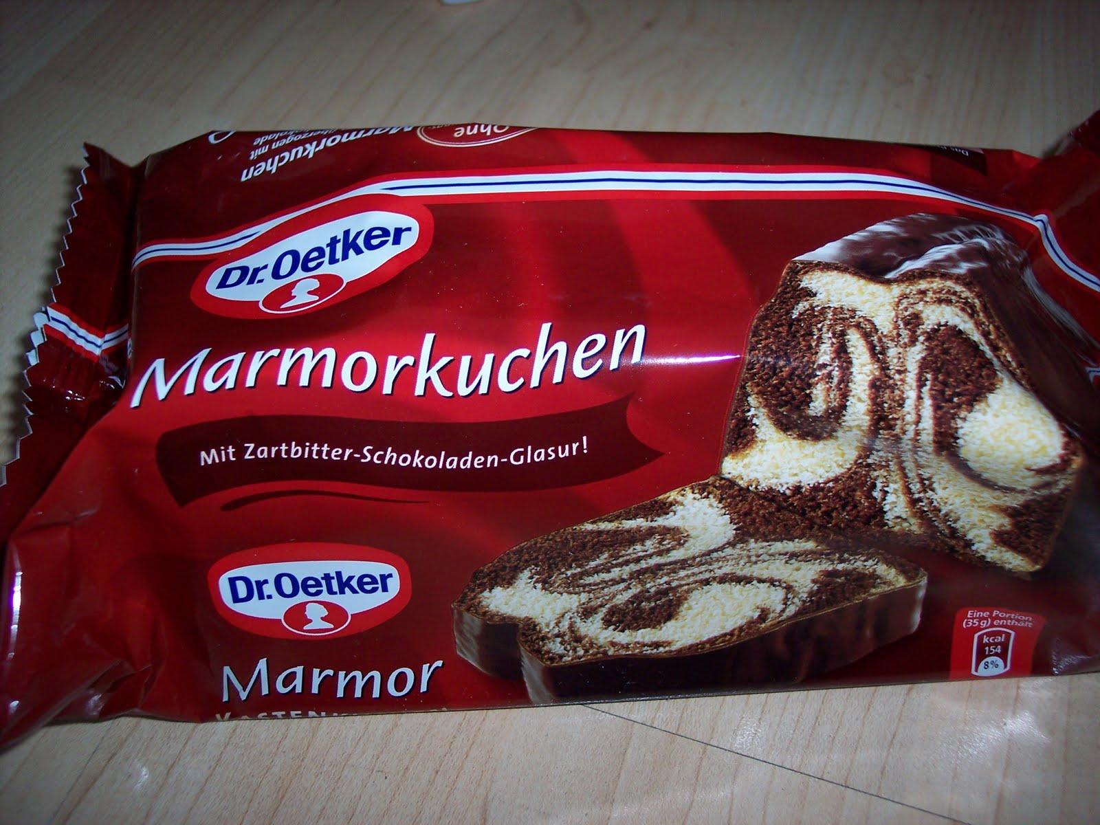 Life Of An Icedragon Dr Oetker Kuchen Marmor Und Schoko Flockina