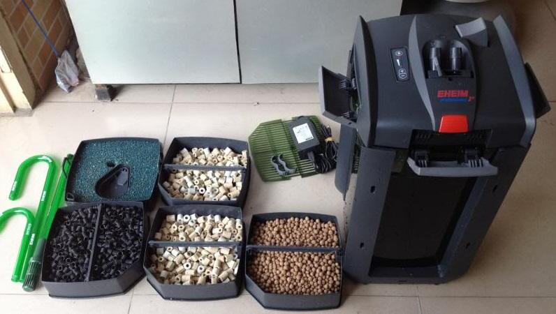 Phần lớn các loại lọc thùng đều có sẵn vật liệu lọc cơ bản cho người chơi thủy sinh