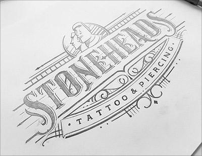 Trend Desain logo Tahun 2018 - Hand Lettered Logo