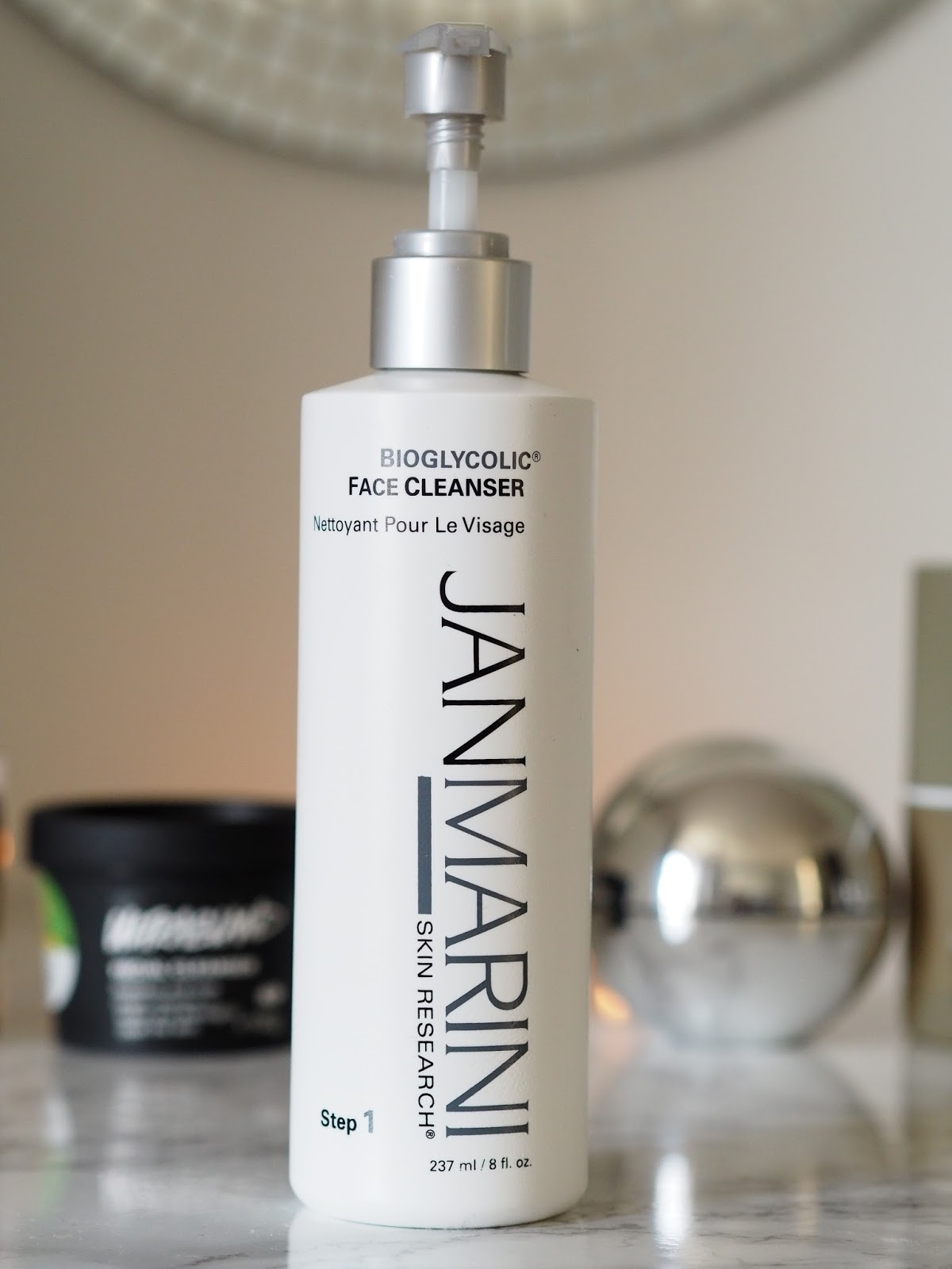 evening cleansing routine Jan Marini glycolic beauty Priceless Life of Mine Over 40 lifestyle blog