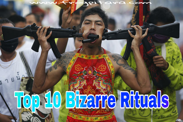 Top 10 Bizarre Rituals From Around The World In Hindi