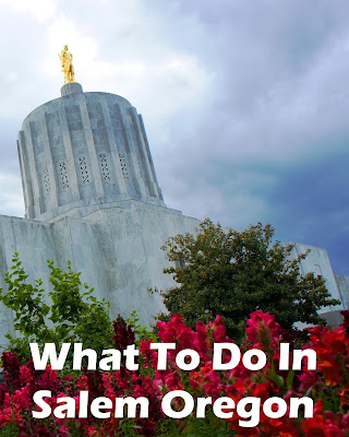 Travel the World: Visitors to Oregon's state capitol, Salem, can explore the Historic Deepwood Estate, Willamette Hertitage Center, and Capitol building.