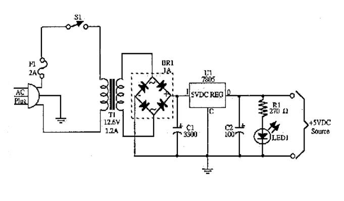 basic unregulated power supply