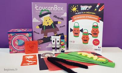 ToucanBox d'Octobre - activité manuelle