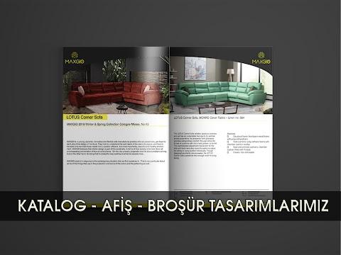 Katalog ve Dergi Tasarımlarımız - Alıcılara ürününüzü satın almaları için bir neden vermek veya kendi markanız hakkında ayrıntılı bilgi vermek, katalog tasarımının genel amacıdır.
