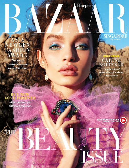 Fashion Model, @ Luma Grothe - Harper's Bazaar Singapore, May 2016