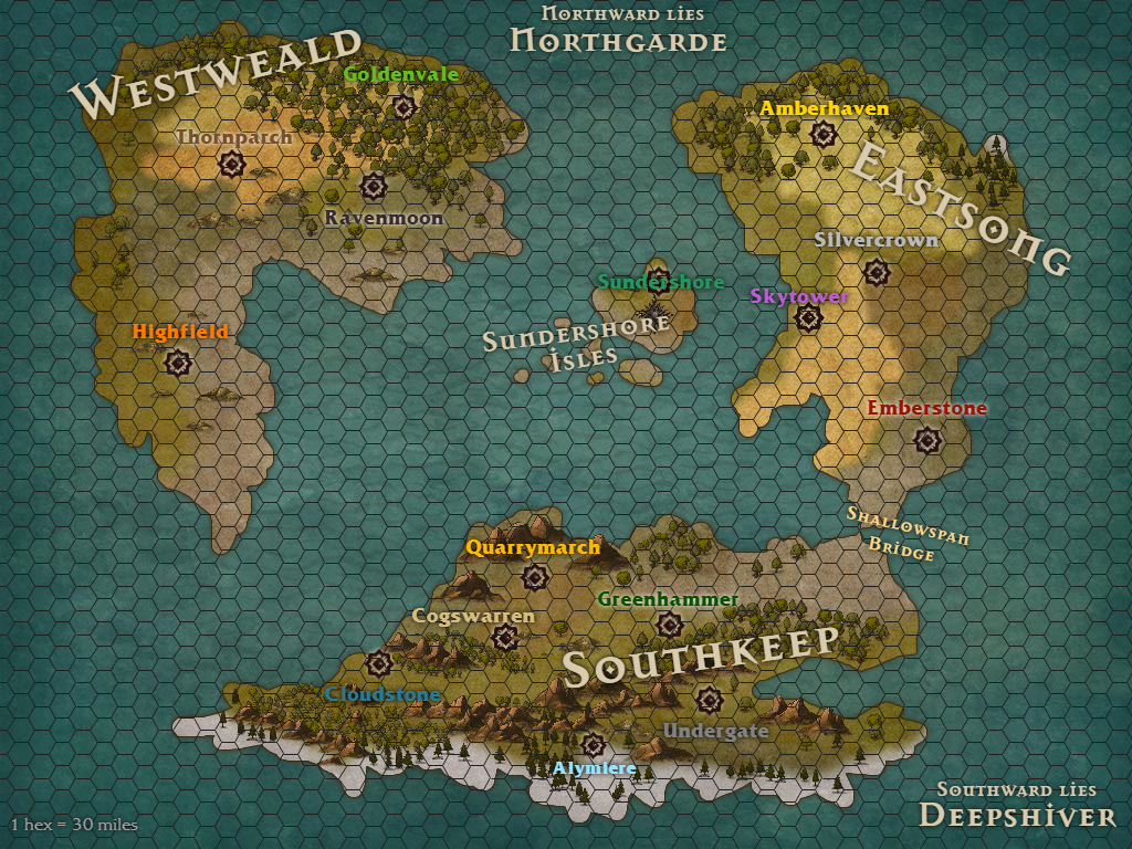 Pretzel lectern the world of hearth first things first let me show you the world map ive created so far using the online tool inkarnate gumiabroncs Image collections