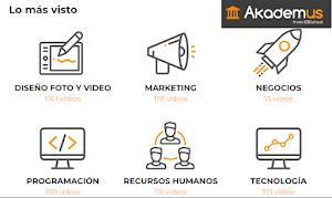 Akademus IEBS - Academia Digital con más de 1500 cursos [+REGALO]
