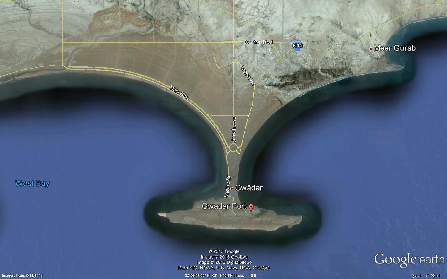 The Gawadar Port Control to China - a Strtaegic Decision ...