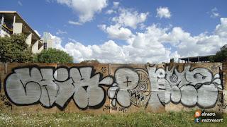 imagen de graffiti v55