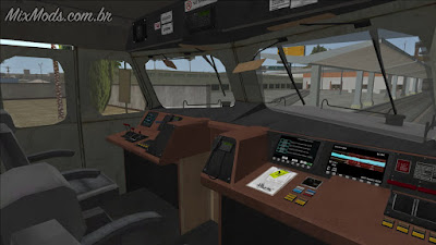 gta sa mod hd train remaster brown streak interior