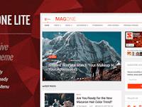 Theme Wordpress SEO Friendly Terbaik Tercepat 2018 Free Download - MagOne Lite 1.8