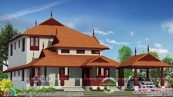 Traditional architectural home 2253 square feet