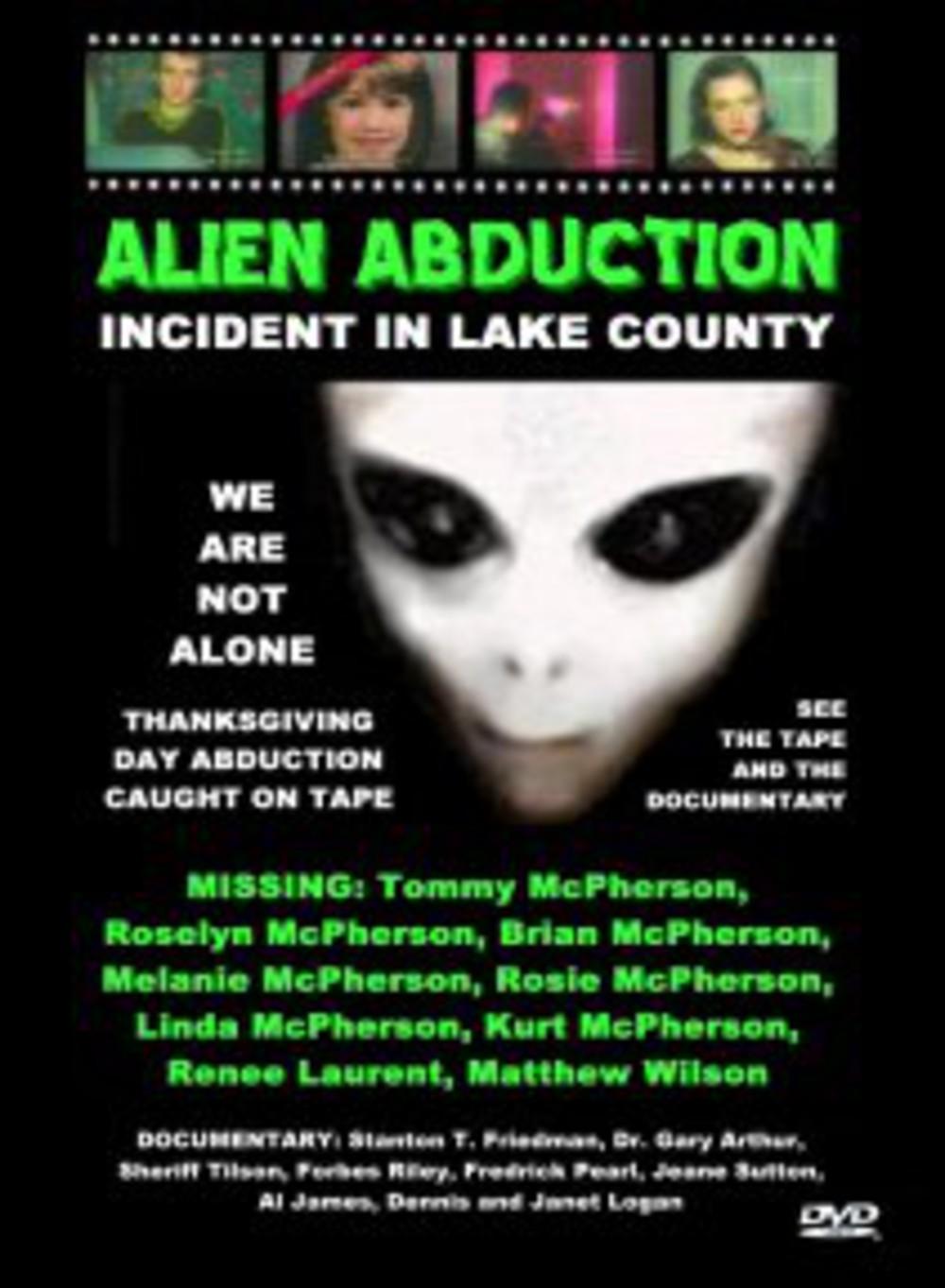 CIVIC-TV: Alien Abduction: Incident in Lake County, Dean Alioto, 1998