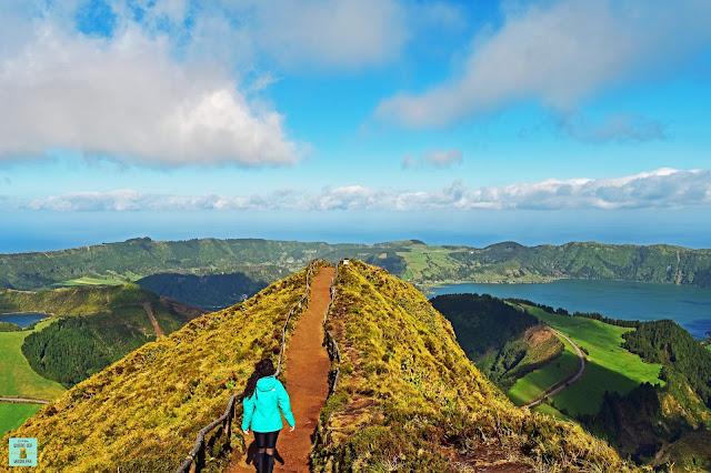 Sete Cidades en Sao Miguel, Azores