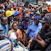 Lagos State Governor-Elect, Sanwo-Olu Visits The Collapse Scene Of School Building