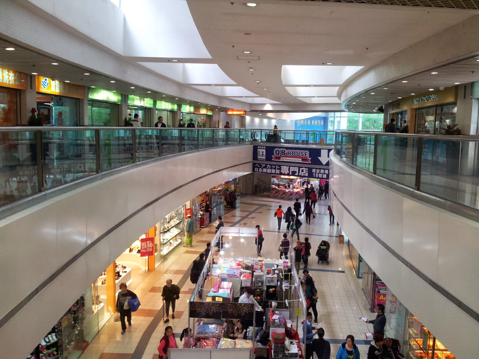 Grassroots O2: 巡視業務.領匯.頌安商場 @2014-03-01