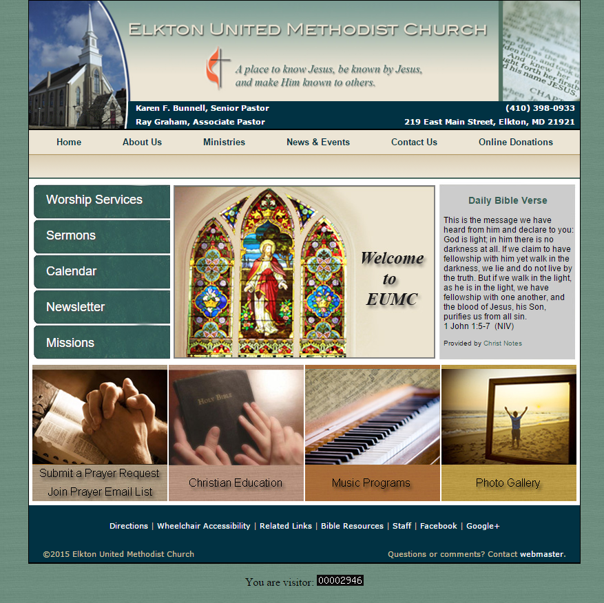 EUMC on the Web!