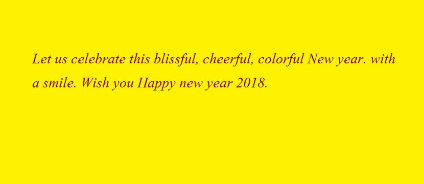happy new year sms text messages