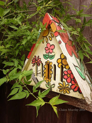 30 Days Wild nature blog - paint a butterfly home - Kent, Surrey, Sussex