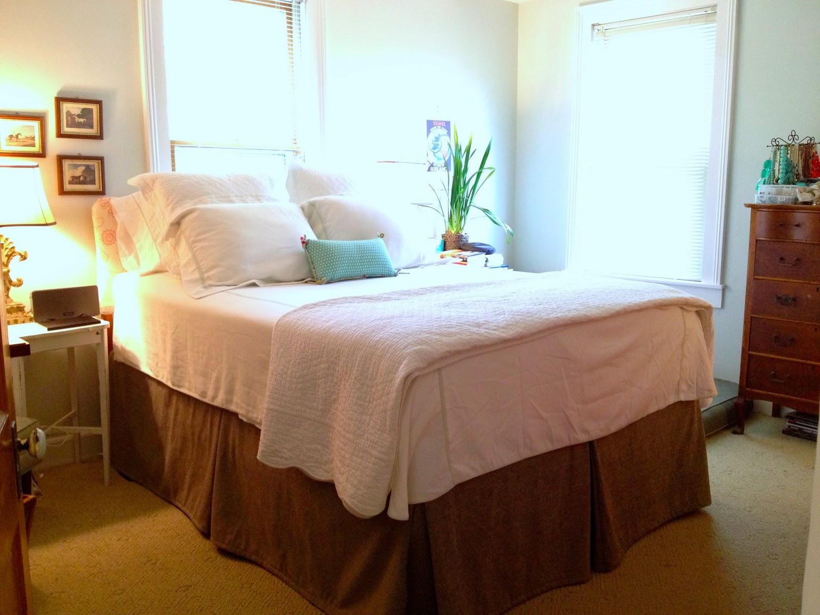 Mel Amp Liza Sewing A Box Pleated Bedskirt