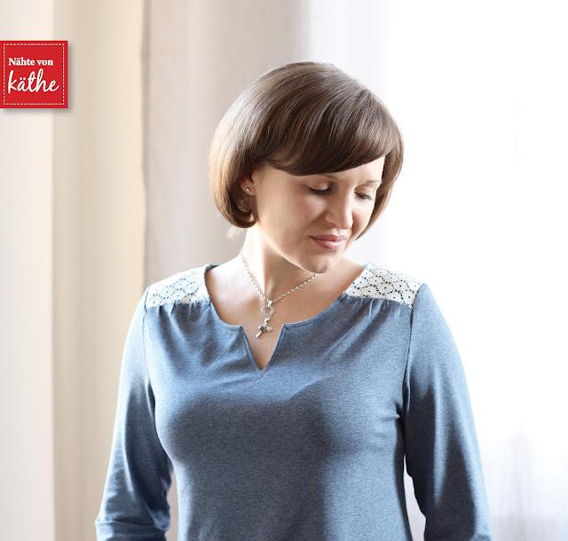 Shirt Luna von Bienvenido Colorido
