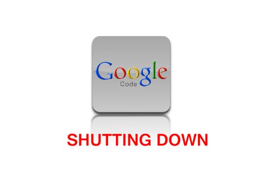 Googlecode shutting down 2016