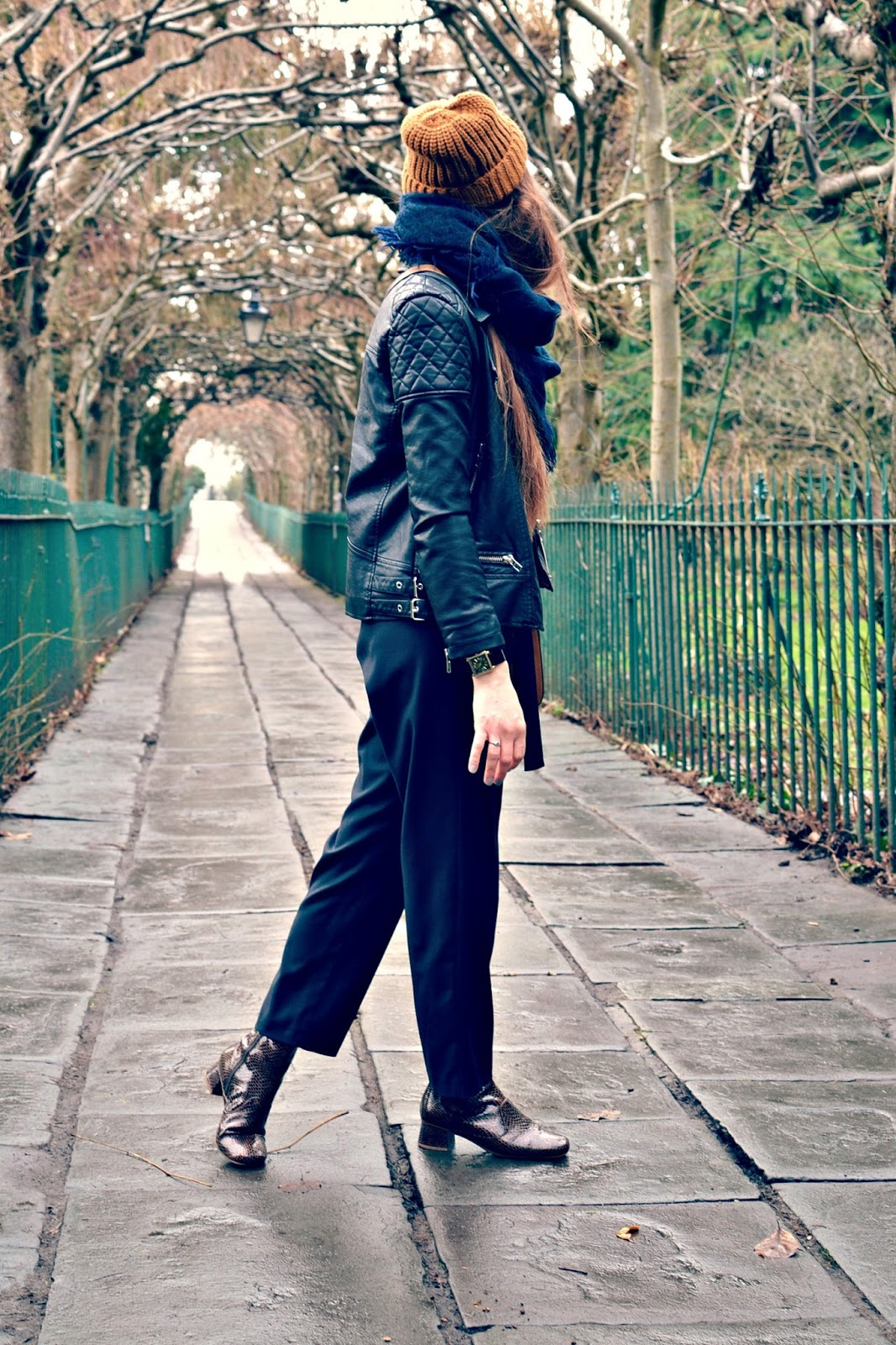topshop boutique jumpsuit, finery boots, monki hat, hermes bag, fashion blogger