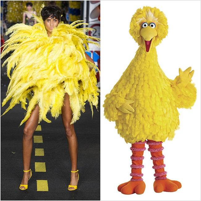 Moschino 偷穿大鳥姐姐的衣服