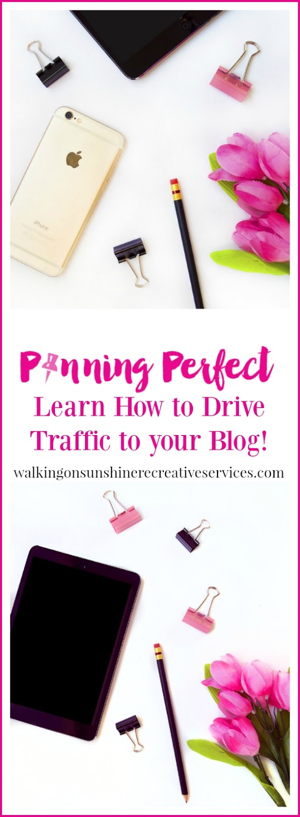 Pinning Perfect - The BEST Pinterest Course featured on Walking on Sunshine.