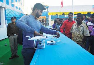 Drone deployed to keep watch Dooars Utsav