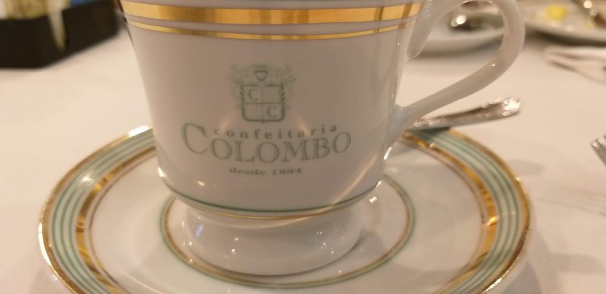 xícara Confeitaria Colombo